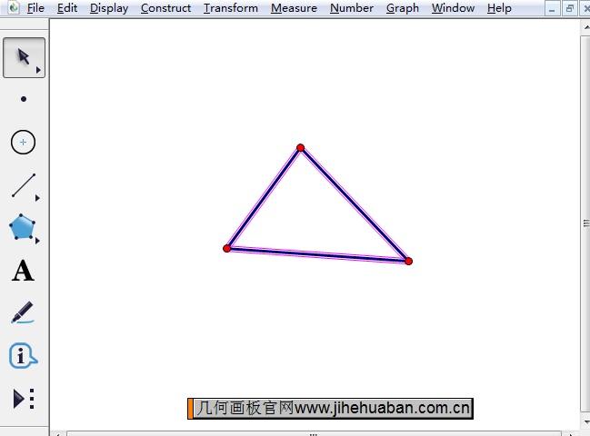 绘制三角形