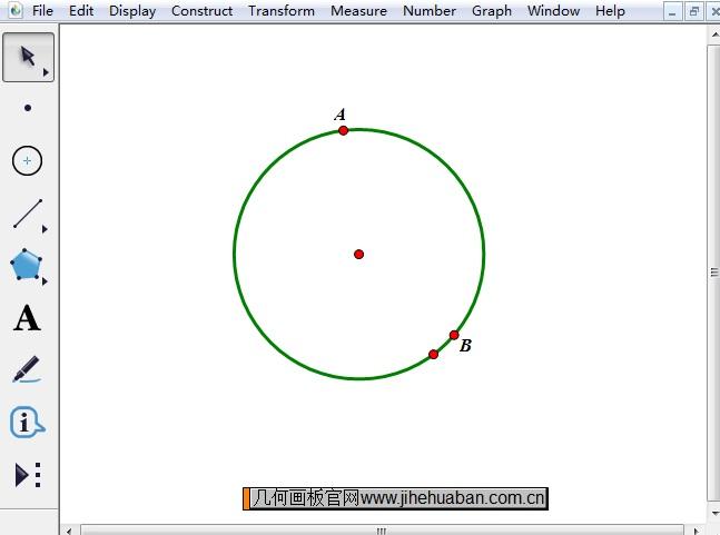 绘制圆和点