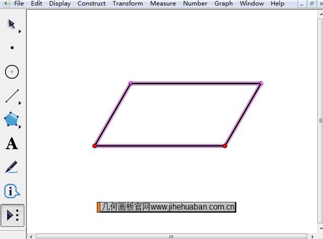 60º的平行四边形