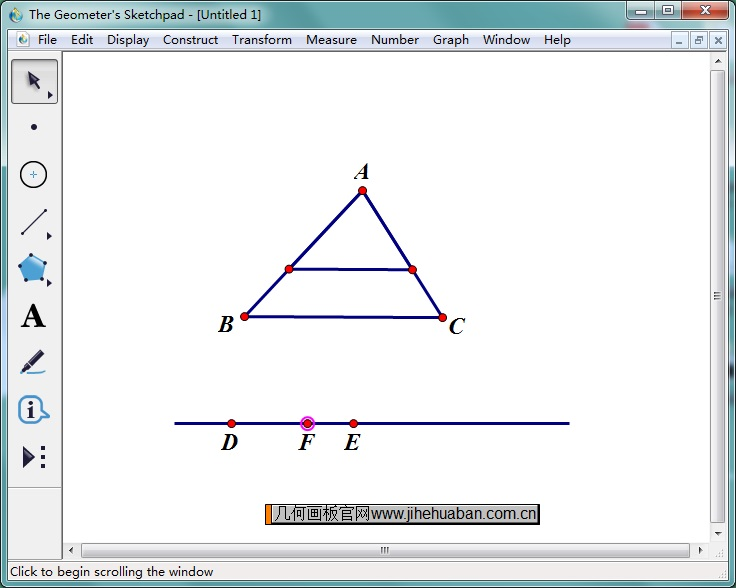 演示相似三角形