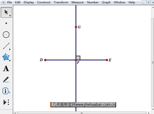 单线直角符号