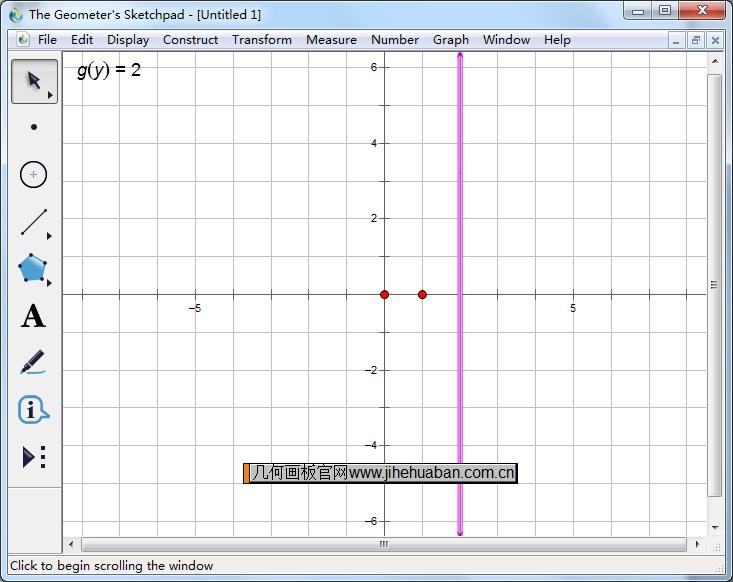 作x=2的直線