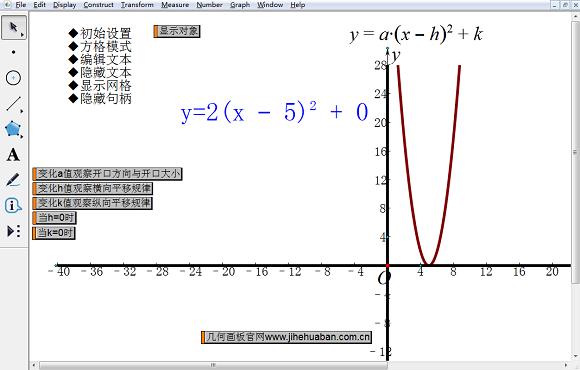 探讨二次函数图像规律