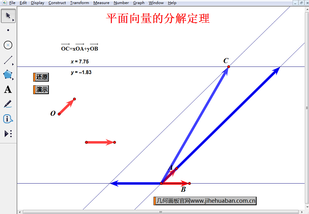 平面向量的分解定理