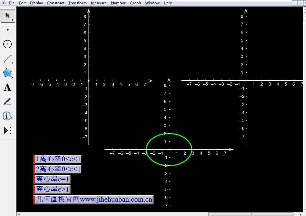 圆锥曲线间的相互转换