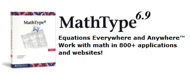 MathType 6.9简体中文版发布—MathType中文官网