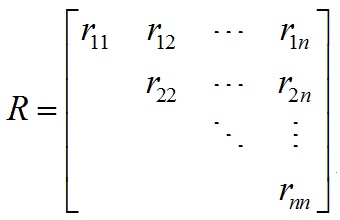 MathType三角矩阵