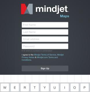 Mindjet Maps注册