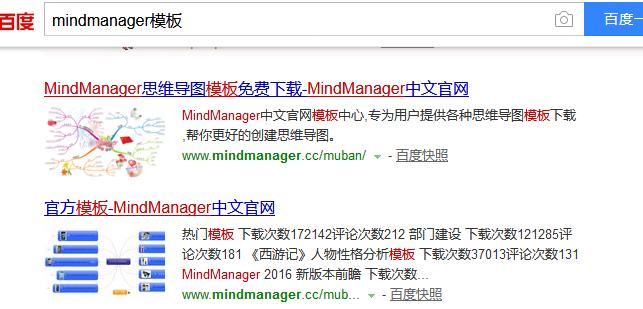 MindManager思維導圖模板哪里尋