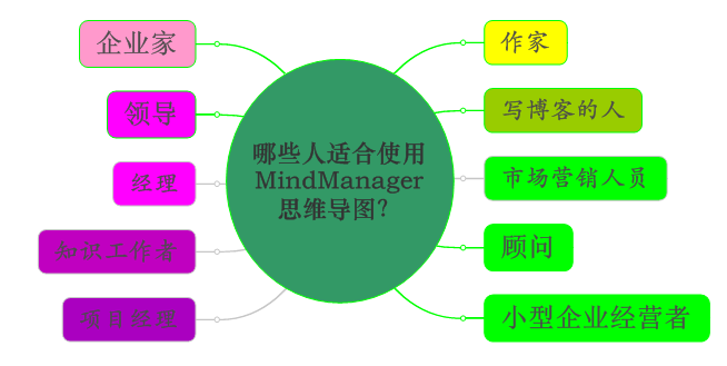 MindManager適合人群