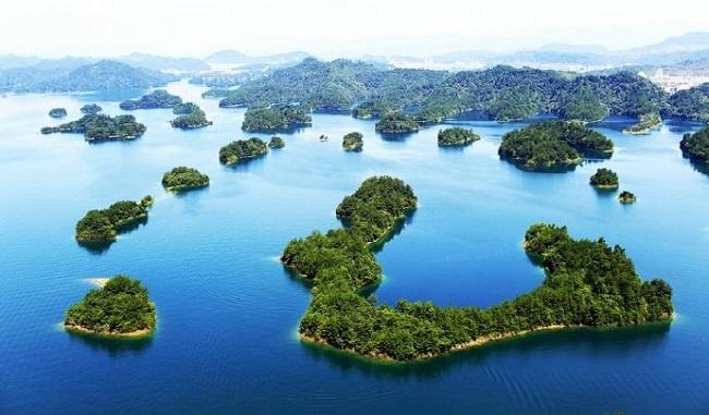 旅游思维导图千岛湖
