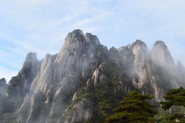 旅游思维导图庐山