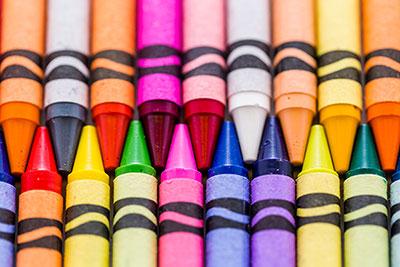 图一:完美的蜡笔