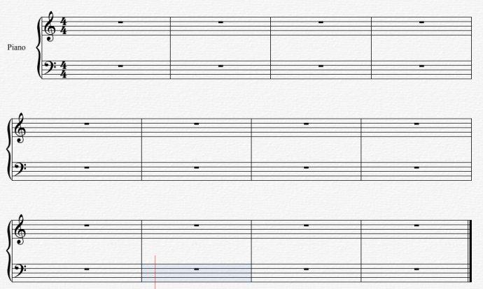 Overture教程之五线谱符号大全