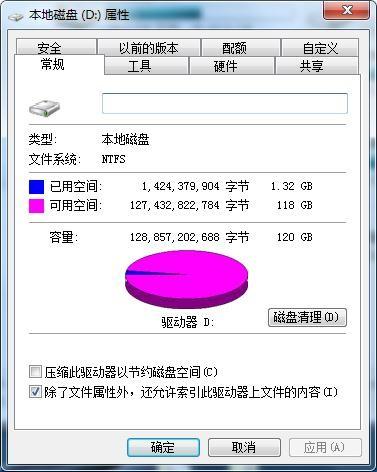 NTFS文件系统属性