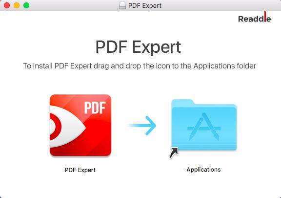 安装PDF Expert for Mac