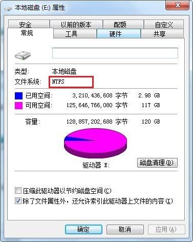 NTFS磁盘格式
