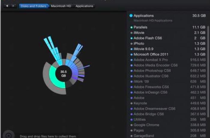 DAIsyDisk Mac软件操作界面