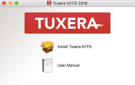 Tuxera ntfs安装向导