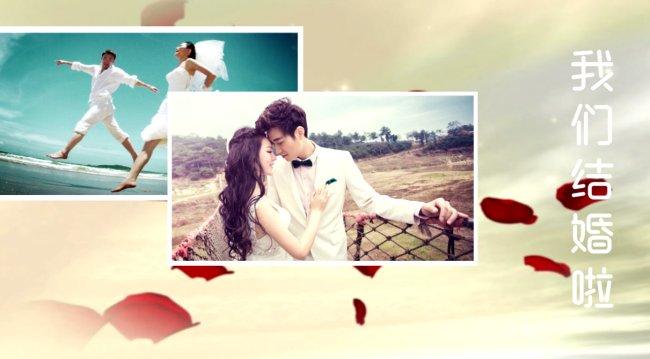 清新婚禮視頻截圖1