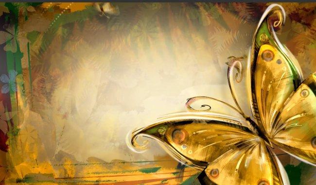 蝴蝶動態背景素材