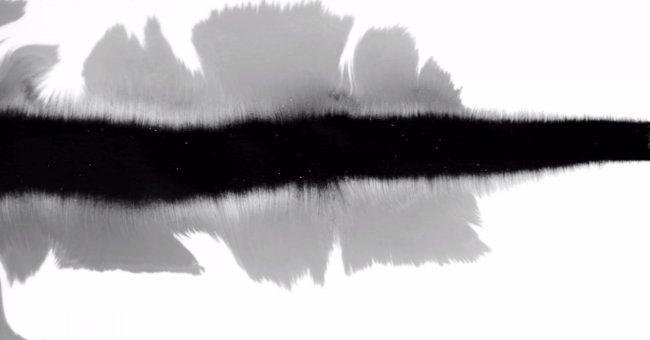 分享水墨遮罩視頻素材