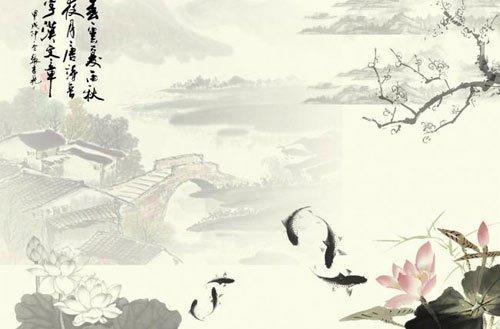 中國風之水墨素材下載