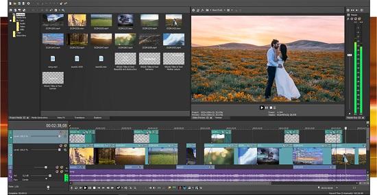 vegas五分鐘制作視頻大片