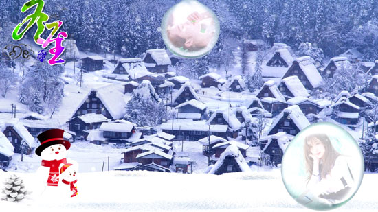冬日创意暖心主题相册