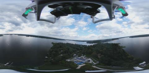 创建一个360°的视频