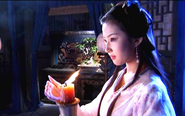 劉亦菲,美人如畫