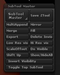 SubTool  Master插件