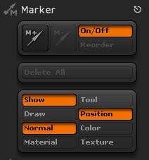 ZBrush Marker标记特殊情况