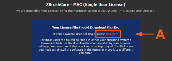 下载许可证文件