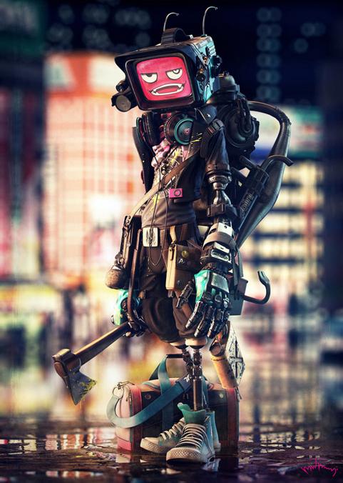 机器人Crazy