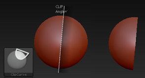 ClipCurve笔刷
