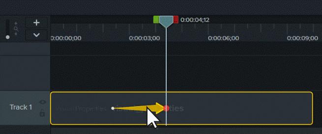 图3:Camtasia软件时间轴定时设置