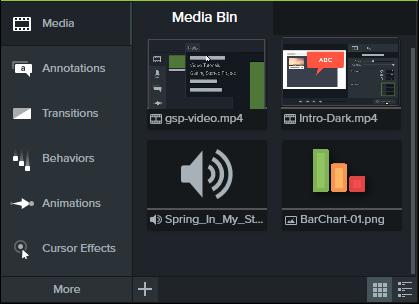图1:图像音频视频导入