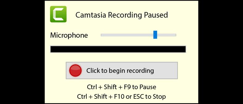 图3:用Camtasia软件进行录制