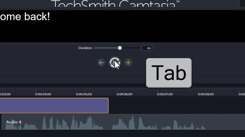 图3:Camtasia软件添加多个文字