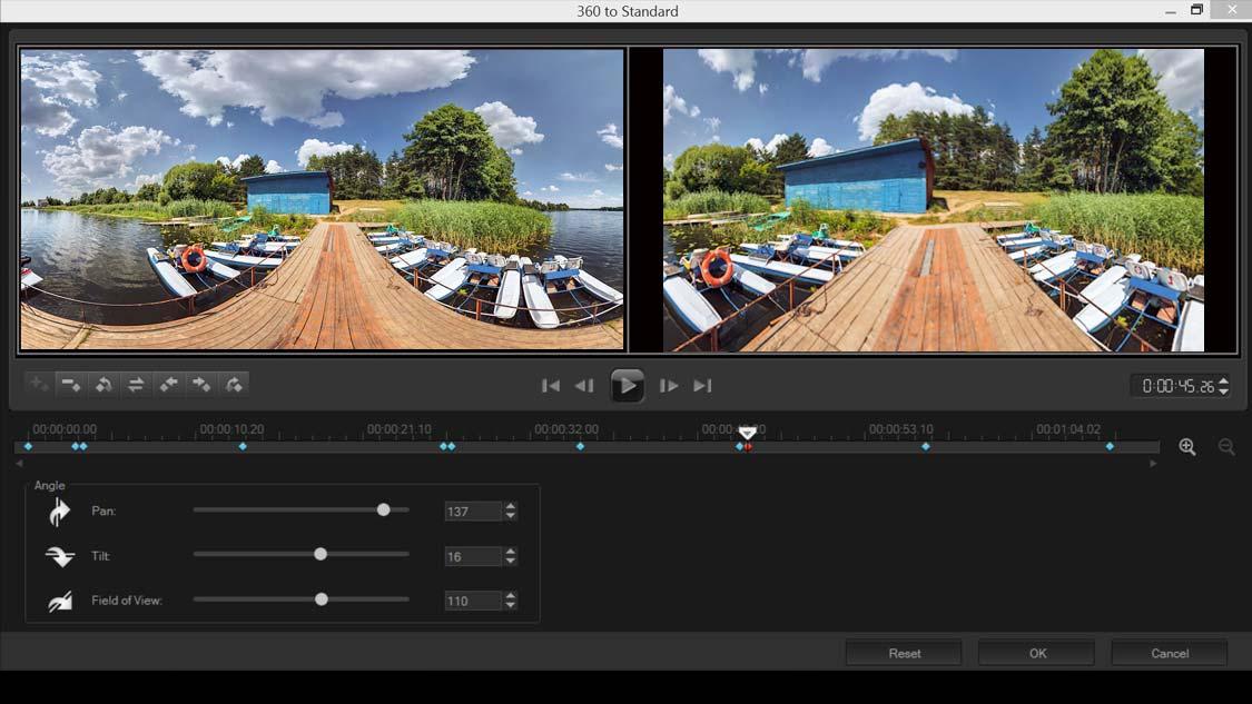 360转换标准视频