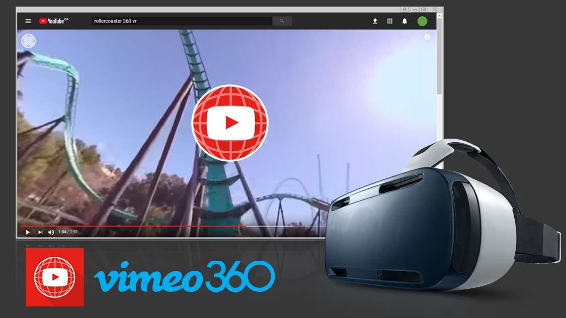 输出为360视频