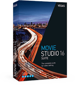 VEGAS Movie Studio 16 Suite