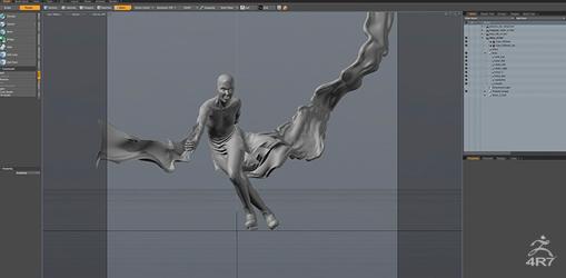 多元化3D雕刻和绘画