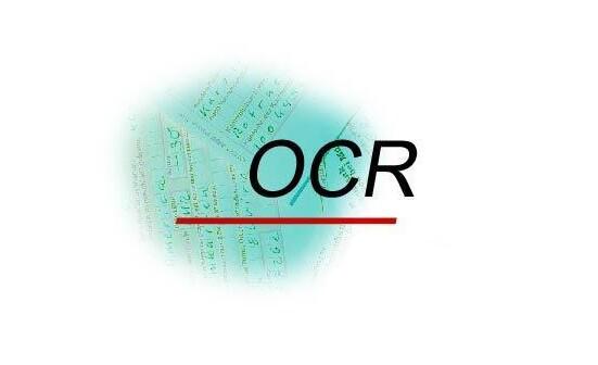 OCR光学字符识别