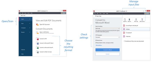 处理扫描PDF文档