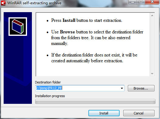Install FineReader 12