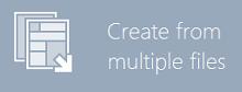从多个文件里创建PDF