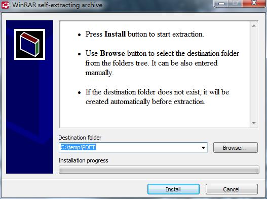 Install ABBYY PDF Transformer+