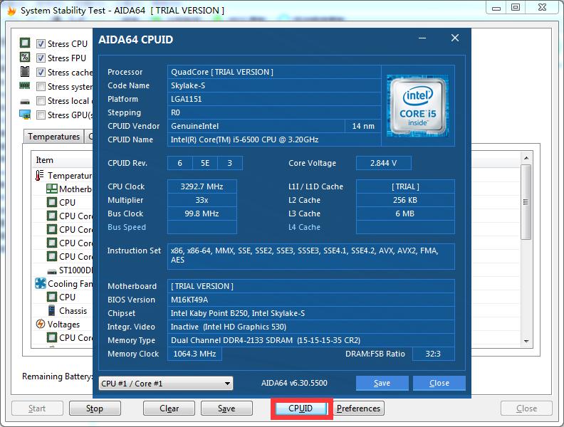 图4:CPU报告